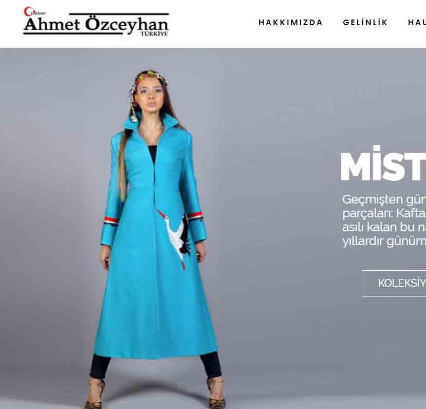 Modacı Ahmet Özceyhan Web Tasarım