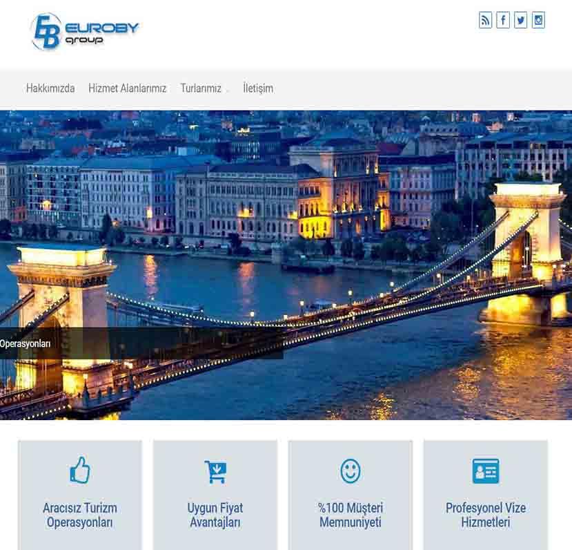 Eurobygroup Web Tasarım