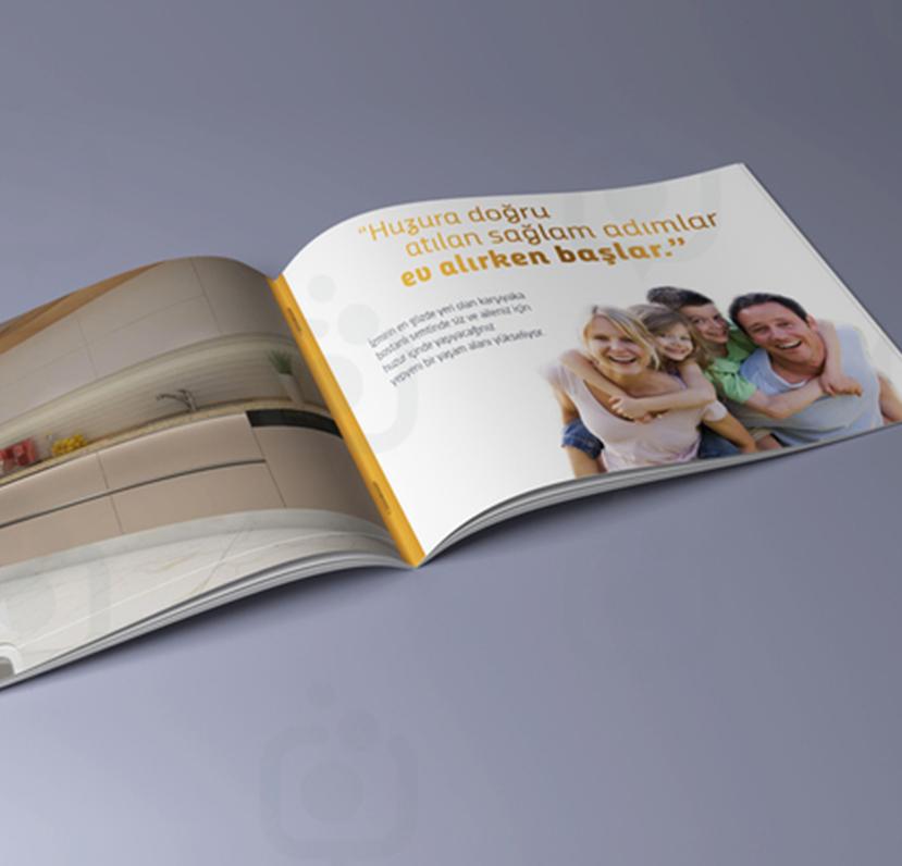 Nadir İnşaat Katalog Tasarım