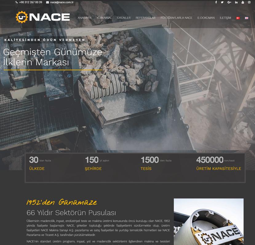 NACE Makina Sanayi A.Ş.